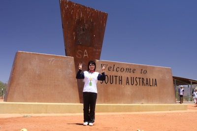 *ここからサウスオーストラリア州に入ります。